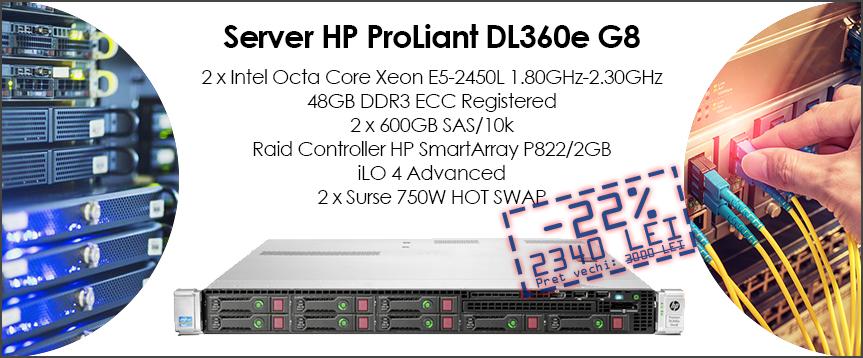 Server HP DL360e G8