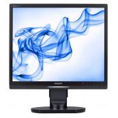 Monitor Philips 19S1, 19 Inch LCD, 1280 x 1024, VGA, DVI, USB, Grad A-, Second Hand Monitoare cu Pret Redus