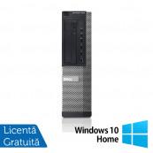 Calculator DELL OptiPlex 7010 Desktop, Intel Core i3-3220 3.30GHz, 4GB DDR3, 250GB SATA, DVD-ROM + Windows 10 Home Calculatoare Refurbished
