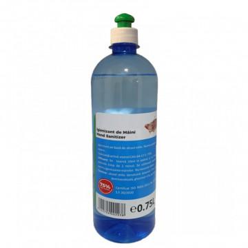 Igienizant de maini cu picurator 0.75L, 75% pe baza de Alcool Etilic Produse Igienizare