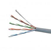 Rola Cablu UTP, Categoria 5e, Emtex 305M, EMT-UTP5E25AWG, Cupru, 0.45mm Retelistica