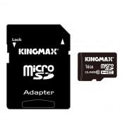 Card MicroSD KINGMAX SDHC 16GB (Class 10) Pro + Adaptor SD Componente & Accesorii