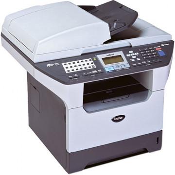 Multifunctionala Laser Monocrom Brother MFC-8460N, A4, 28ppm, 1200 x 1200, Fax, Scanner, Copiator, USB, Retea, Parallel Imprimante Second Hand