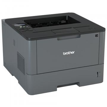Imprimanta Laser Monocrom Brother HL-L5000D, Duplex, A4, 40ppm, 1200 x 1200, USB, Toner si Unitate Drum Noi, Second Hand Imprimante Second Hand