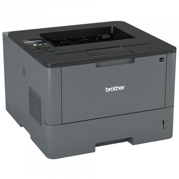 Imprimanta Laser Monocrom Brother HL-L5100DN, Duplex, A4, 40ppm, 1200 x 1200, USB, Retea, Toner si Unitate Drum Noi, Second Hand Imprimante Second Hand