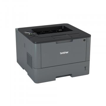 Imprimanta Laser Monocrom Brother L5100N, 40PPM, Retea, USB, 1200 x 1200, A4, Second Hand Imprimante Second Hand