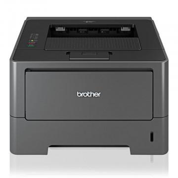Imprimanta Laser Monocrom Brother HL-5450DN, A4, 38ppm, Duplex, Retea, USB, Cuptor Reconditionat (Film si Rola Presure Noi), Second Hand Imprimante Second Hand