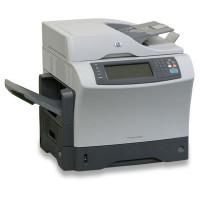 Multifunctionala Laser Monocrom HP LaserJet 4345 MFP, Duplex, A4, 45ppm, 1200 x 1200, Fax, Scanner, Copiator, Retea, USB