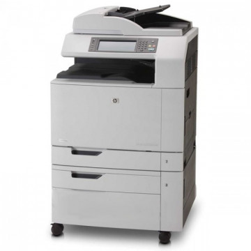 Multifunctional Laser Color A3, HP CM6040 MFP, Copiator, Scanner, Fax, ADF, Retea Imprimante Second Hand