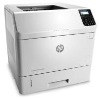 Imprimanta Laser Monocrom HP Laserjet Enterprise M605dn, Duplex, A4, 55ppm, 1200 x 1200, USB, Retea, Toner Nou