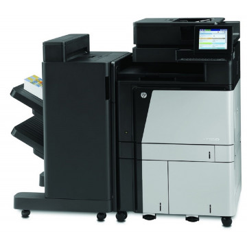 Multifunctionala Laser Color HP LaserJet Managed Flow MFP M880, Duplex, A3, 1200x1200 dpi, 46 ppm, Fax, Copiator, Scanner, USB, Retea, Finisher, Second Hand Imprimante Second Hand