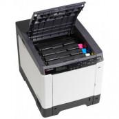 Imprimanta Laser Color KYOCERA ECOSYS P6026cdn, 26 PPM, 600 x 600 DPI, Duplex, Retea, USB, A4 Imprimante Second Hand