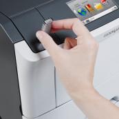 Imprimanta laser monocrom Lexmark M3150, USB, 50ppm, 1200 x 1200 dpi Imprimante Second Hand