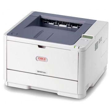 Imprimanta Laser Monocrom OKI B401DN, Duplex, 29 ppm, USB, Retea, Bi-directional Parallel, Second Hand Imprimante Second Hand