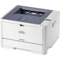 Imprimanta Laser Monocrom OKI B411DN, Duplex, 35 ppm, USB, Retea, Parallel