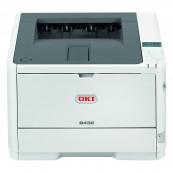 Imprimanta Laser Monocrom OKI B432DN, 42 ppm, USB, Paralel, Duplex, Second Hand Imprimante Second Hand