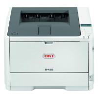 Imprimanta Laser Monocrom OKI B432DN, 42 ppm, USB, Paralel, Duplex