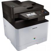 Multifunctionala Laser Color Samsung Xpress SL-C1860FW, A4, 19ppm, 9600 x 600dpi, Fax, Copiator, Scanner, USB, Retea, Wireless, Second Hand Imprimante Second Hand