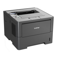 Imprimanta Laser Monocrom Brother HL-6180DW, Duplex, A4, 40ppm, 1200 x 1200, USB, Retea, Wireless