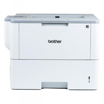 Imprimanta Laser Monocrom Brother HL-L6300DW, Duplex, A4, 48ppm, 1200 x 1200 dpi, Wireless, Retea, USB, Second Hand Imprimante Second Hand