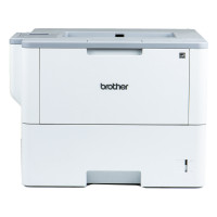 Imprimanta Laser Monocrom Brother HL-L6300DW, Duplex, A4, 48ppm, 1200 x 1200 dpi, Wireless, Retea, USB, Toner si Unitate Drum Noi