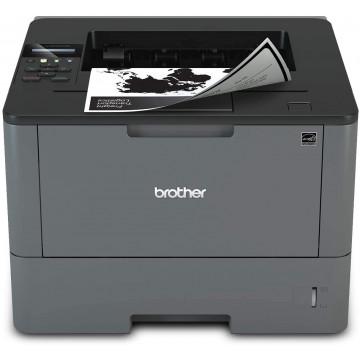 Imprimanta Laser Monocrom Brother HL-L5200DW, Duplex, A4, 40ppm, 1200 x 1200, USB, Retea, Wireless, Second Hand Imprimante Second Hand