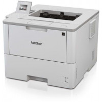 Imprimanta Laser Monocrom Brother HL-L6400DW, Duplex, A4, 50ppm, 1200 x 1200 dpi, Wireless, Retea, USB, Unitate Drum si Toner Noi