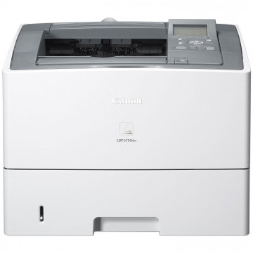 Imprimanta Laser Monocrom Canon i-SENSYS LBP6750dn, Duplex, A4, 40ppm, 600 x 600 dpi, Retea, USB, Toner Nou 6k, Second Hand Imprimante Second Hand