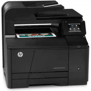 Multifunctionala Laser Color HP LaserJet Pro 200 MFP M276N, A4, 14ppm, 600 x 600 dpi, Fax, Copiator, Scanner, Retea, USB, Second Hand Imprimante Second Hand