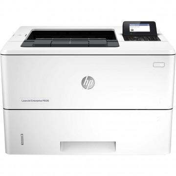 Imprimanta Laser Monocrom HP LaserJet Enterprise M506dn, Duplex, A4, 43ppm, 1200 x 1200, USB, Retea, Cartus 100%, Second Hand Imprimante Second Hand