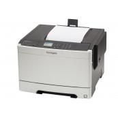 Imprimanta Laser Color Lexmark CS410dn, Duplex, A4, 30ppm, 1200 x 1200 dpi, USB, Retea, Second Hand Imprimante Second Hand