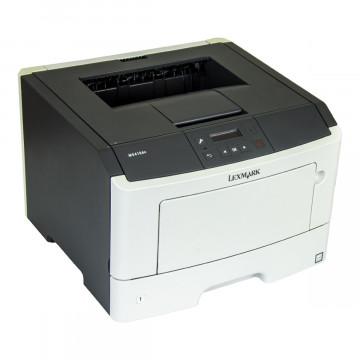Imprimanta Laser Monocrom Lexmark MS410dn, Duplex, A4, 38ppm, 1200 x 1200 dpi, USB, Retea, Second Hand Imprimante Second Hand
