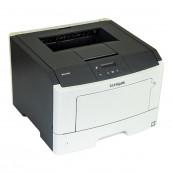 Imprimanta Laser Monocrom Lexmark MS410dn, Duplex, A4, 38ppm, 1200 x 1200, USB, Retea, Second Hand Imprimante Second Hand