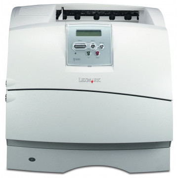 Imprimanta Laser Monocrom Lexmark T632N, A4, 40ppm, 600x600 dpi, Retea, USB, Rola Cuptor Noua, Rola Cartus Noua, Lipsa Capac Superior, Second Hand Imprimante Second Hand