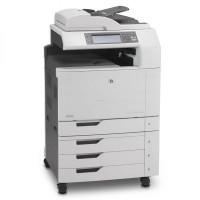 Multifunctional Laser Color A3, HP CM6040 MFP, Copiator, Scanner, Fax, ADF, Retea, Fara finisher