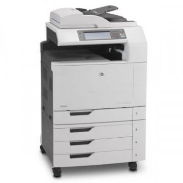 Multifunctionala Laser Color HP CM6040 MFP, Duplex, A3, 40ppm, 600 x 600dpi, Copiator, Scanner, Fax, Retea, USB Second Hand Imprimante Second Hand