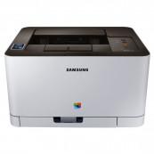Imprimanta Laser Color Samsung Xpress C410W, A4, 19ppm, 2400 x 600 dpi, USB, Retea, Wireless, Second Hand Imprimante Second Hand