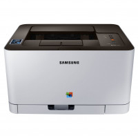 Imprimanta Laser Color Samsung Xpress C410W, A4, 19ppm, 2400 x 600 dpi, USB, Retea, Wireless