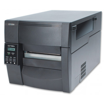 Imprimanta Termica Citizen CLP-7201E, LAN, RS-232, USB, Parallel, 175 mm/s, Second Hand Echipamente POS