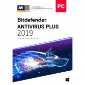 Licenta retail Bitdefender Antivirus Plus 2019 noua valabila pentru 1 an, 3 dispozitive Software