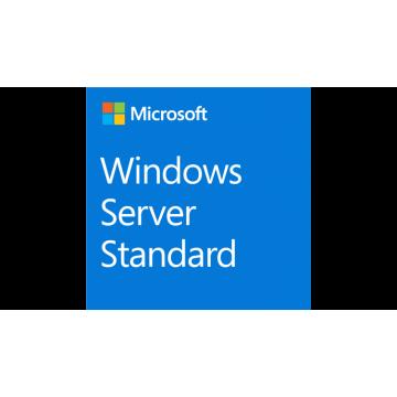 Windows Server Standard 2019, 64Bit, English, 1pk DSP OEI, DVD, 16 Core Software