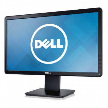 Monitor DELL E2014HF LCD, 20 Inch, 1600 x 900, DVI, VGA, Second Hand Monitoare Second Hand