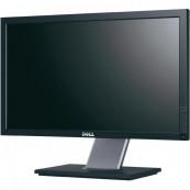 Monitor Dell P2011H, 20 Inch LED, 1600 x 900, VGA, DVI, USB, Grad A-, Second Hand Monitoare Second Hand