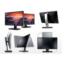Monitor Second Hand DELL U2312HMT, LCD, 23 inch, 1920 x 1080, VGA, DVI, USB 2.0, Widescreen