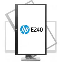 Monitor IPS LED HP EliteDisplay E240, 24 Inch, Full HD, VGA, DisplayPort, HDMI, USB