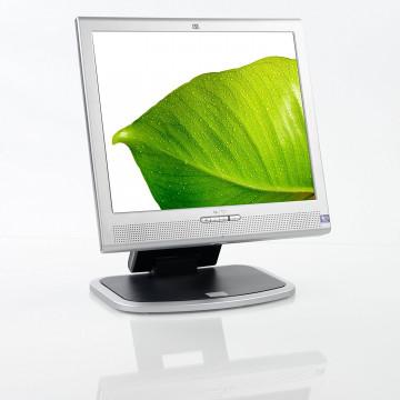 Monitor HP 1730 LCD, 17 Inch, 1280 x 1024, VGA, Grad A- Monitoare Second Hand