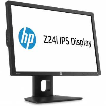 Monitor HP Z24i LED IPS, 24 Inch, 1920 x 1200, VGA, DVI, DisplayPort, USB, Second Hand Monitoare Second Hand