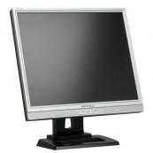 Monitor HANNS.G JC198D LCD, 19 Inch, 1280 x 1024, VGA, DVI, Boxe integrate, Grad A-, Second Hand Monitoare Second Hand
