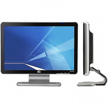 Monitor HP W1907V LCD, 19 Inch, 1400 x 900, 5ms, VGA, Boxe Integrate, Grad A-, Second Hand Monitoare Second Hand