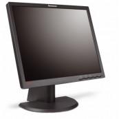 Monitor Lenovo ThinkVision L193P LCD, 19 inch, 1400 x 900, VGA, DVI, Grad A-, Fara picior, Second Hand Monitoare cu Pret Redus